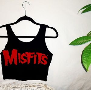 Upcycled Misfits tank crop